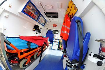 ambulance inside