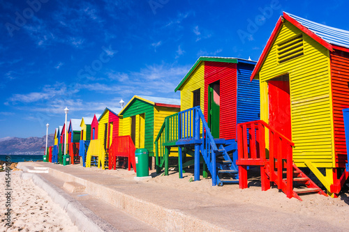 Spoed Foto op Canvas Zuid Afrika St. James Beach Houses