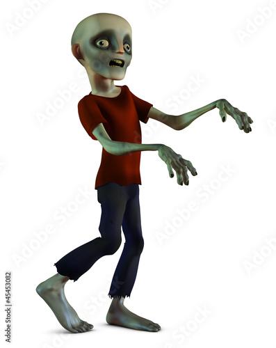 Photo  walking zombie