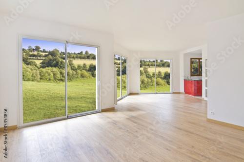 Interieur de maison moderne – kaufen Sie dieses Foto und finden Sie ...