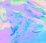 abstract turquoise lilac painting, background, illustration