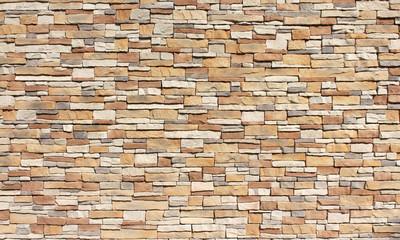 Fototapeta Stacked stone wall