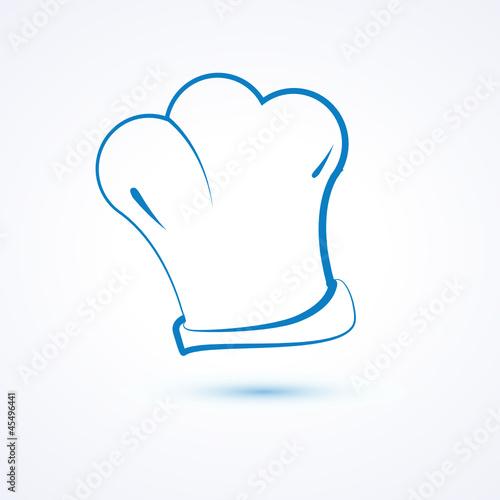 Logo Dessin Restaurant Cuisinier Toque Buy This Stock