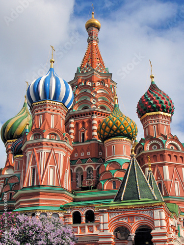 St Basil cathederal in Moscow