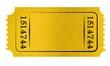 canvas print picture - Admit ticket