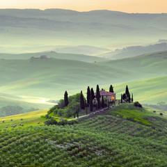 Naklejka Krajobraz Toscana, paesaggio.