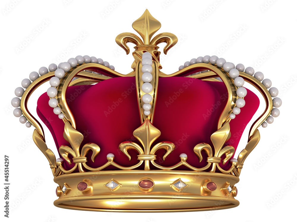 Fototapeta Gold crown