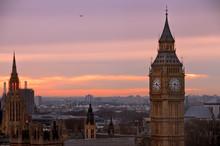 Big Ben View From London Eye