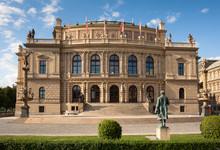 Rudolfinum (Dvorak) Concert Hall In Prague, Czech Republic