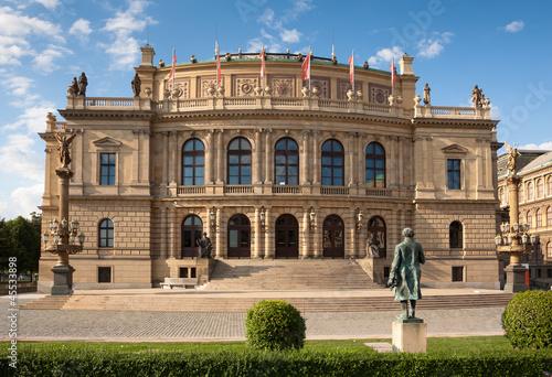 Rudolfinum (Dvorak) Concert Hall in Prague, Czech Republic - 45533898