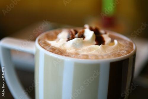 Foto op Canvas Chocolade Mocha
