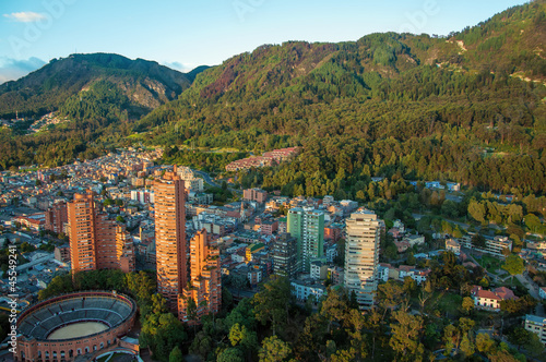 Amérique du Sud Bogota and the Andes Mountains