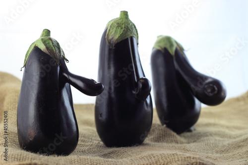 Fotografija  eggplant trio