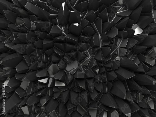 abstract black surface background