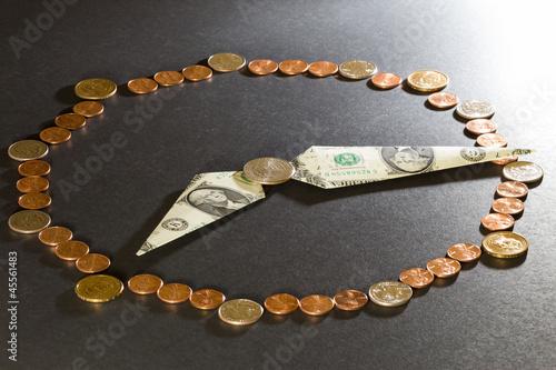 Fotografie, Obraz  Time is money