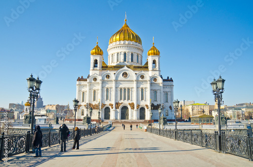 Cathedral of Christ the Saviour, Moscow Wallpaper Mural
