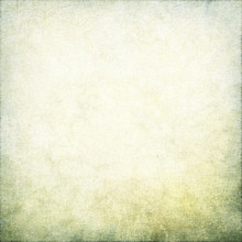 White Grunge Background Linen Texture Green Moss Vignette