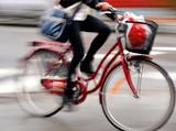 young woman on bike - 45584687