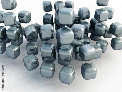 Fototapeta 3d cubes