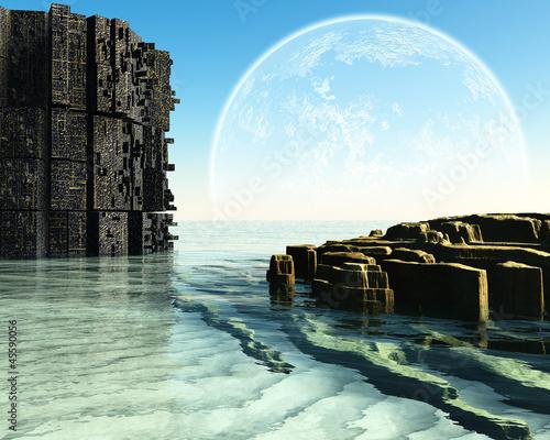 Fantasy landscape - 45590056