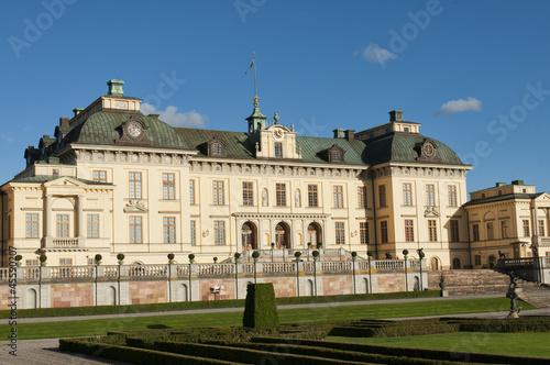 Stampe  Drottningholms slott (royal palace)  Stockholm, Sweden
