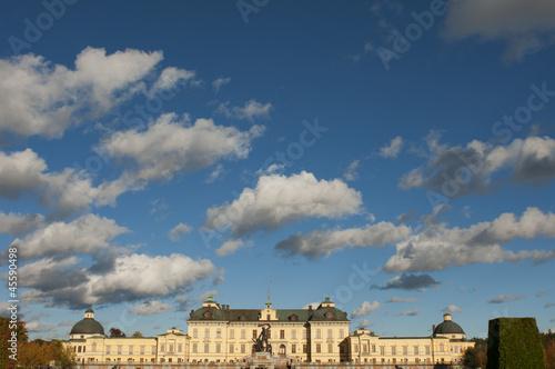 Photo  Drottningholms slott (royal palace)  Stockholm, Sweden