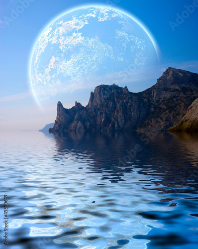 Fantasy landscape - 45590649