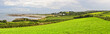 canvas print picture - Typical Landscape Panorama in Normandy, France