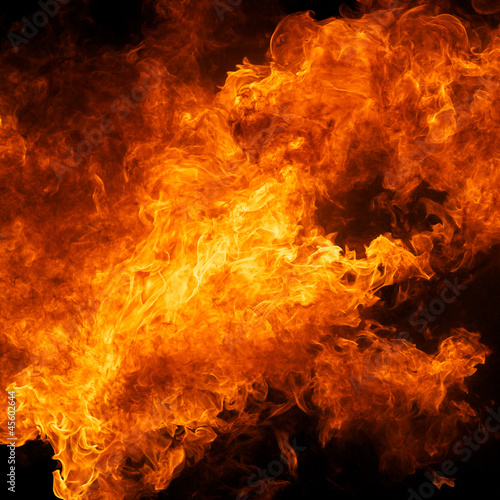 mata magnetyczna blaze fire flame texture background