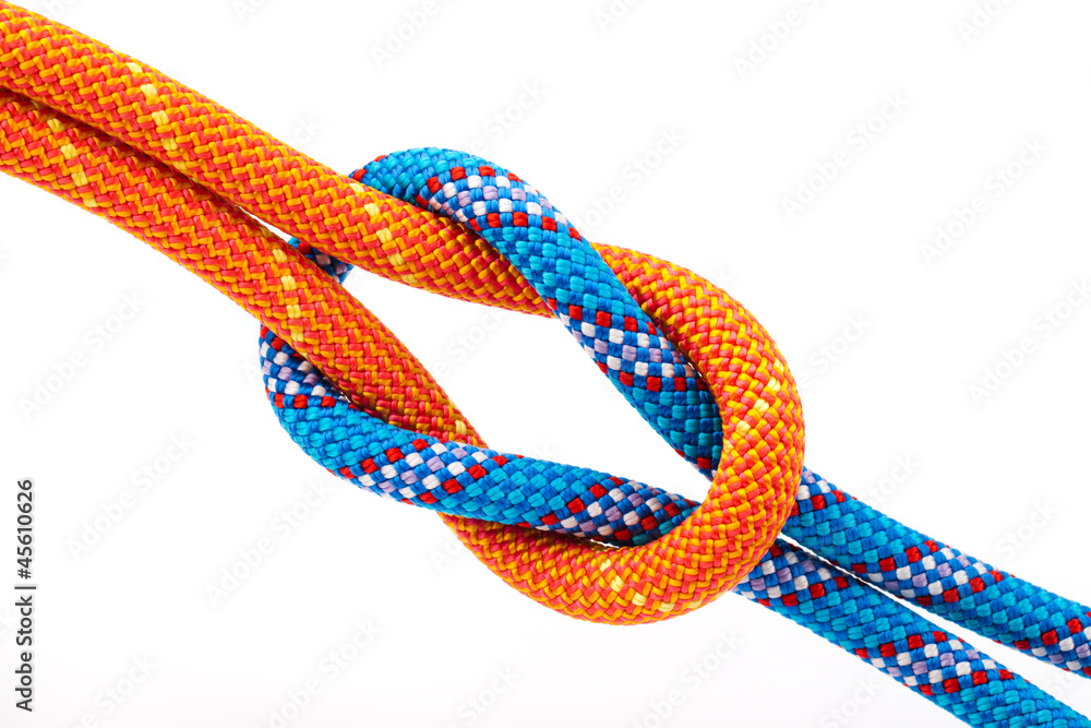 Fototapeta eight  rope knot