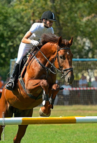 Poster Equitation riding