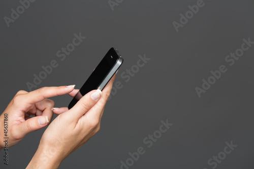 Foto  Smartphone Bedienen