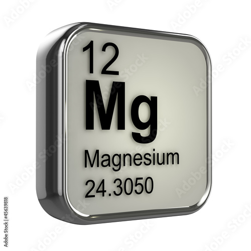 Photo  3d Periodic Table - 12 Magnesium