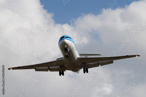 Photo Fokker 70 KLM Toulouse