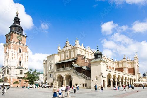 Fototapeta Stare miasto w Krakowie. Polska obraz