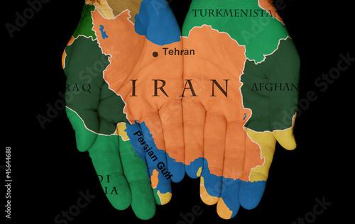 Fotobehang Midden Oosten Iran In Our Hands