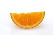 a piece of Valencia orange