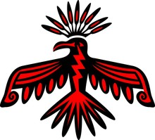 Donnervogel - Thunderbird - Native American Symbol
