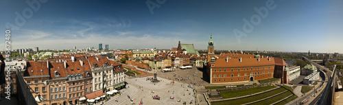 Panorama of Warsaw - 45672480
