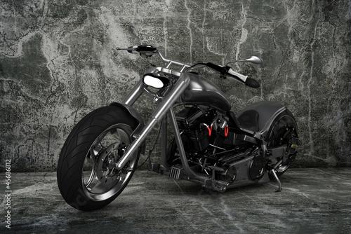 Poster Motorcycle Custom Motorbike