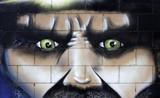 Graffiti look