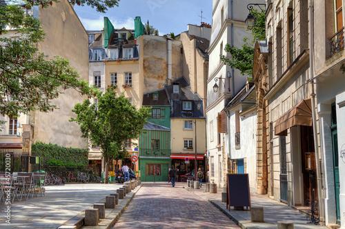 Traditional parisian street.