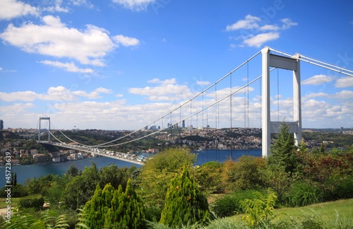 Canvas Print Istanbul Bosphorus Bridge