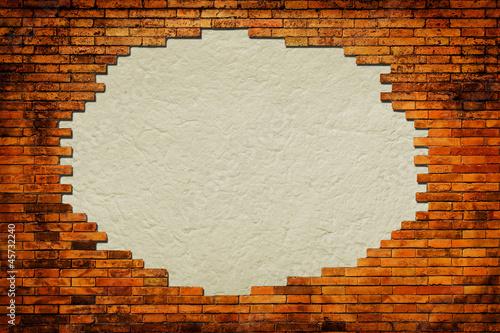 grungy-papierowy-tlo-otaczajacy-cegly-rama