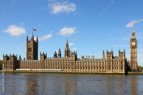Foto op Canvas Londen Houses of Parliament and Big Ben in Westminster, London.