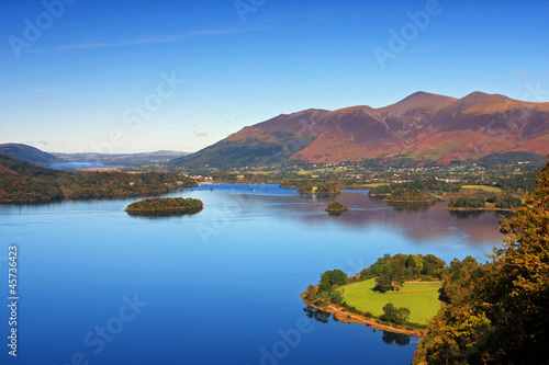 Fotografia Derwentwater View in the English Lake District National Park