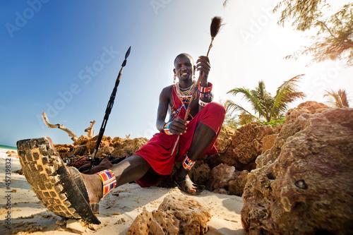 Obraz na płótnie Maasai