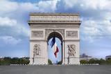Fototapeta Paryż - Arc de triomphe
