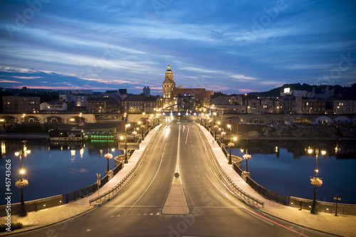 Fototapeta Panorama Gorzów Wielkopolski obraz