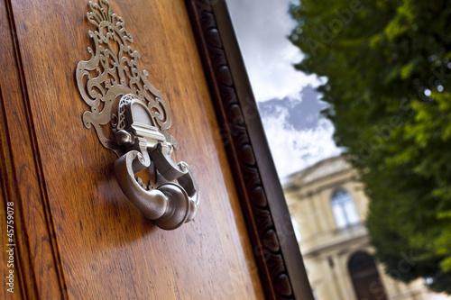 Fotografie, Obraz  Maison, immobilier, luxe, Bordeaux, heurtoir, artchitecture